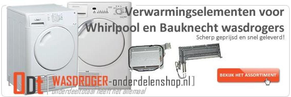 Alle Bauknecht en Whirlpool verwarmingselementen